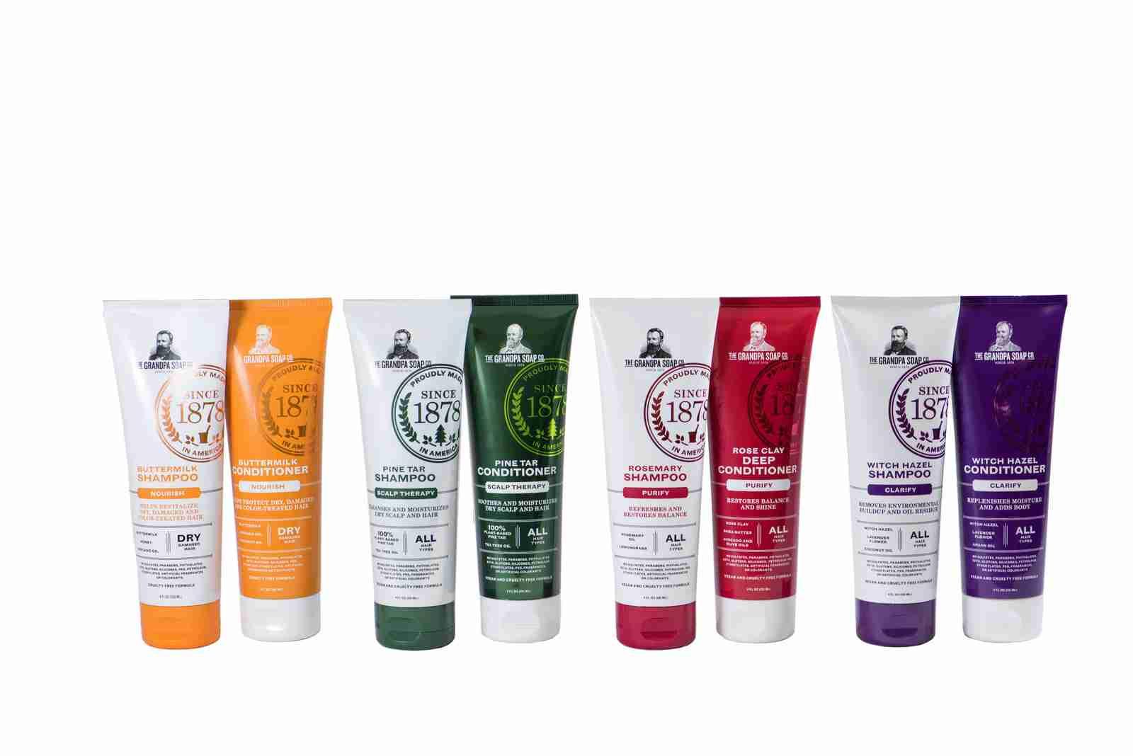 haircare soap