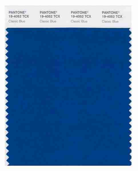 Pantone® Color of the Year 2020: 19-4052 Classic Blue
